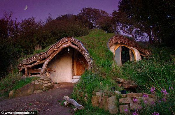 Casa Hobbit Sustentavel I