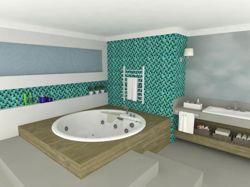 Top Pin Banheiro Com Pastilha Wallpapers -> Banheiro Cim Pastilha