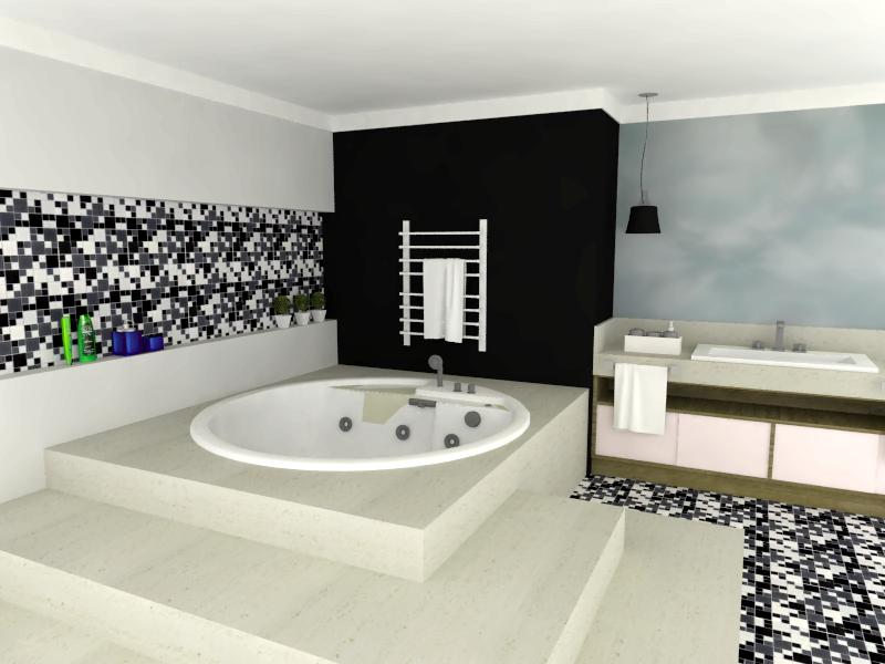 De Vidro Em Preto E Branco Destaque Para O Design Inovador Da Cuba Pictures t -> Banheiro Com Pastilha Preta E Branca