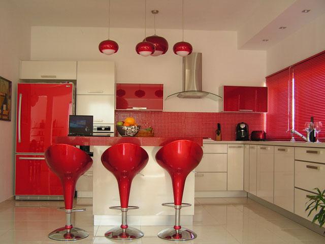 Cozinha Planejada com Pastilha de Vidro Cristal IV