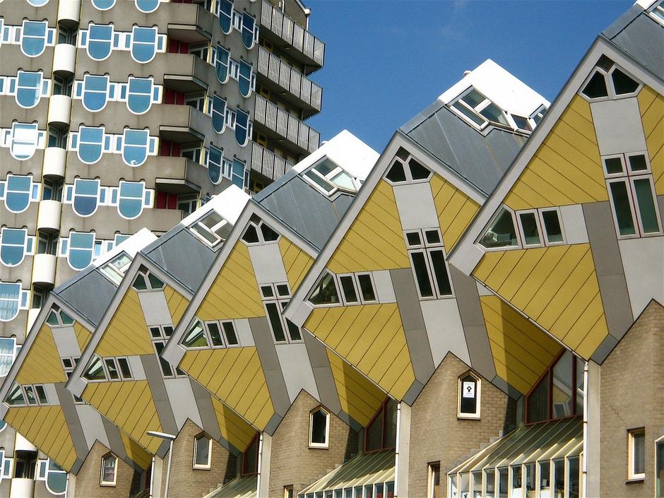 Casas Cubicas de Piet Blom I