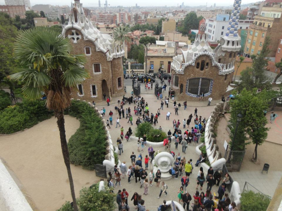 Parque Guell - Gaudi - Barcelona