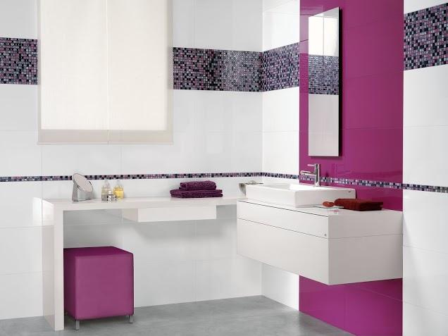 Banheiro com Pastilhas de Vidro - 039