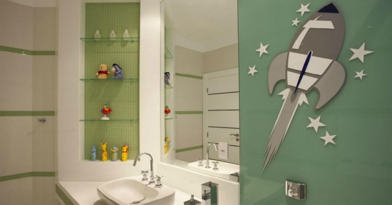 Banheiro Infantil – 01 – Casinha Bonita -> Decoracao De Banheiro Infantil Com Eva