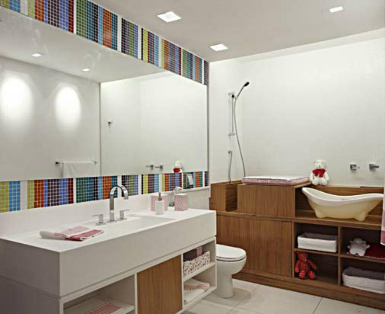 Banheiro Infantil – 02 – Casinha Bonita -> Decorar Banheiro Infantil
