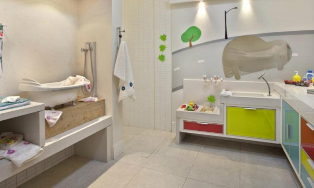 Banheiros Infantis – Casinha Bonita -> Decoracao De Banheiro Infantil Com Eva
