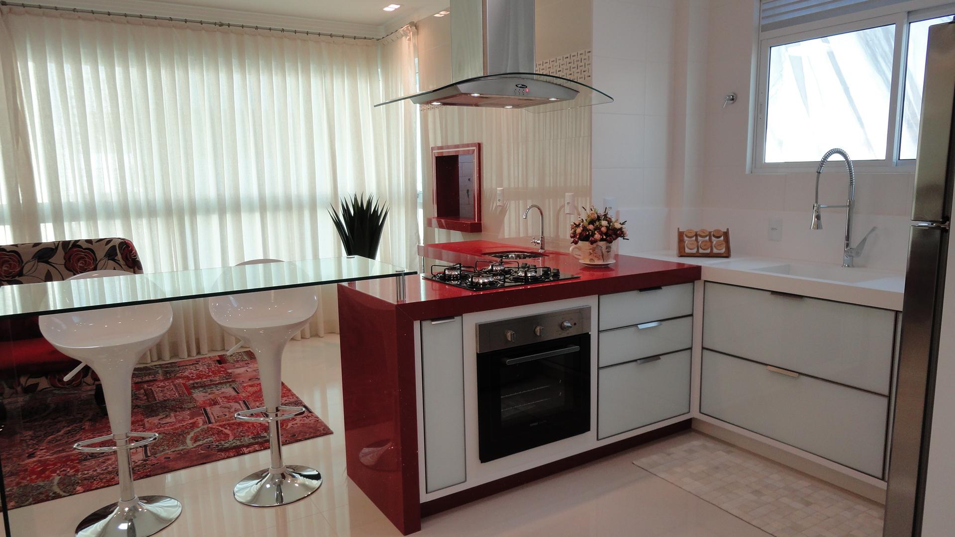 Empreendimento Villa Toscana – Casinha Boni # Cozinha Planejada Com Churrasqueira