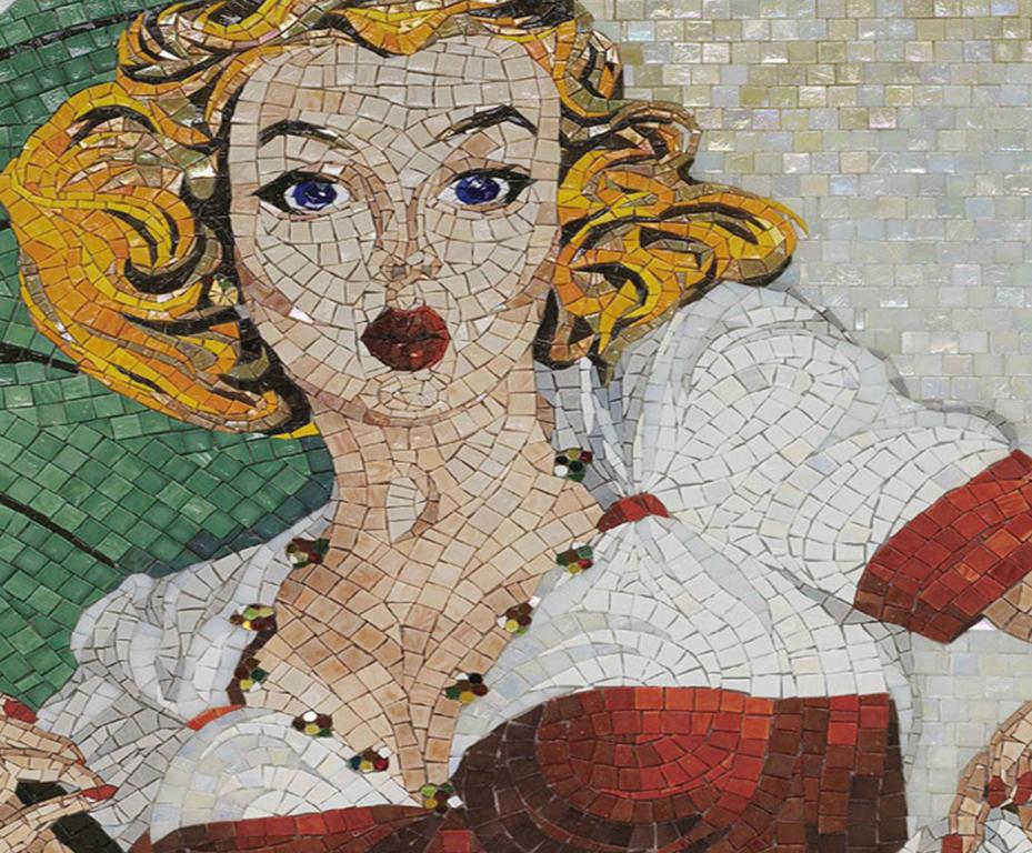 Retrato em Mosaico