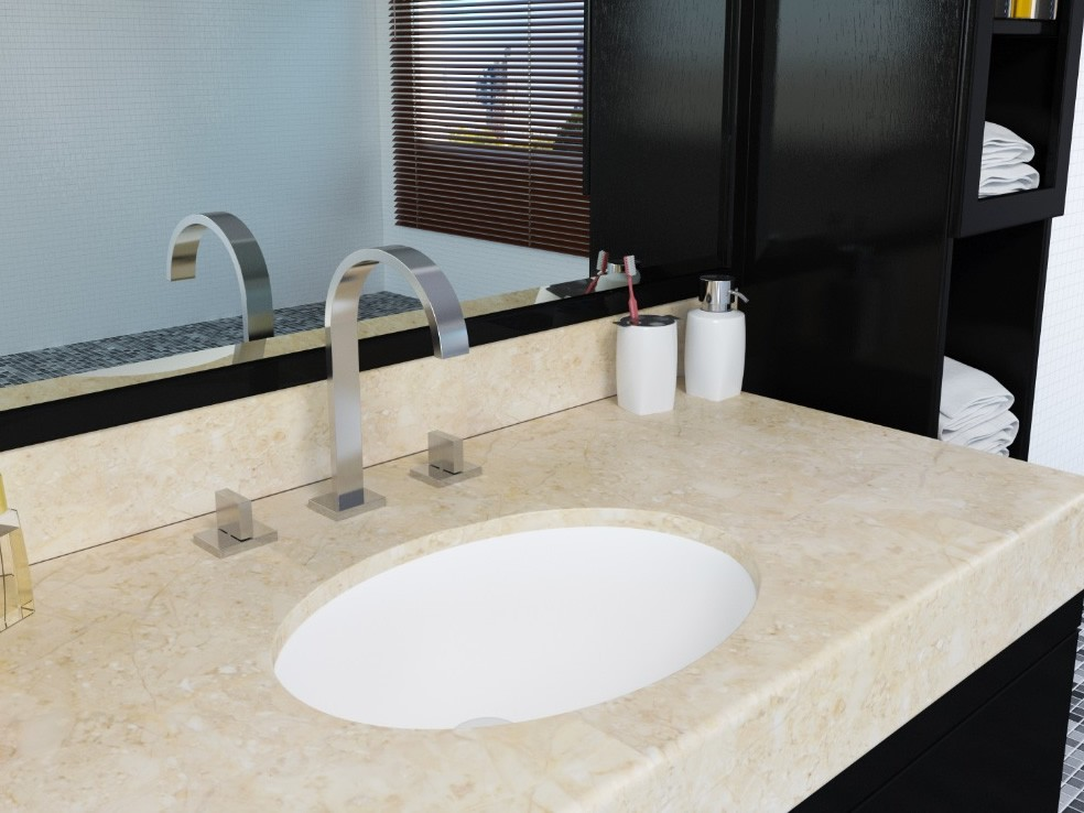 Tipos de cubas  pias para banheiro Como escolher – Casinha Bonita -> Cuba Para Banheiro Quadrada De Embutir