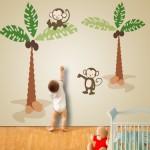 Quartos de Bebê: Inspiração na Selva