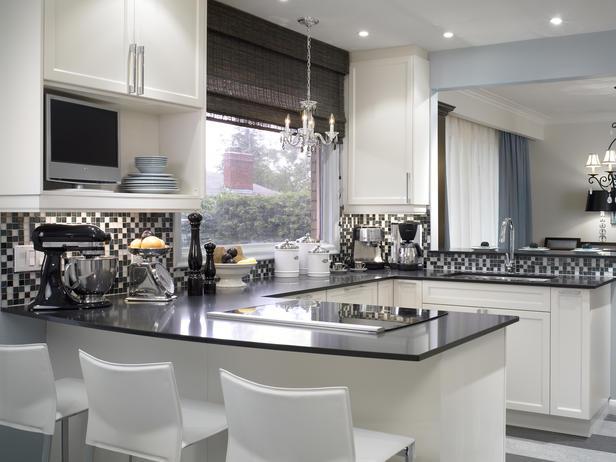 Cozinha Planejada com Pastilha de Vidro Cristal IX