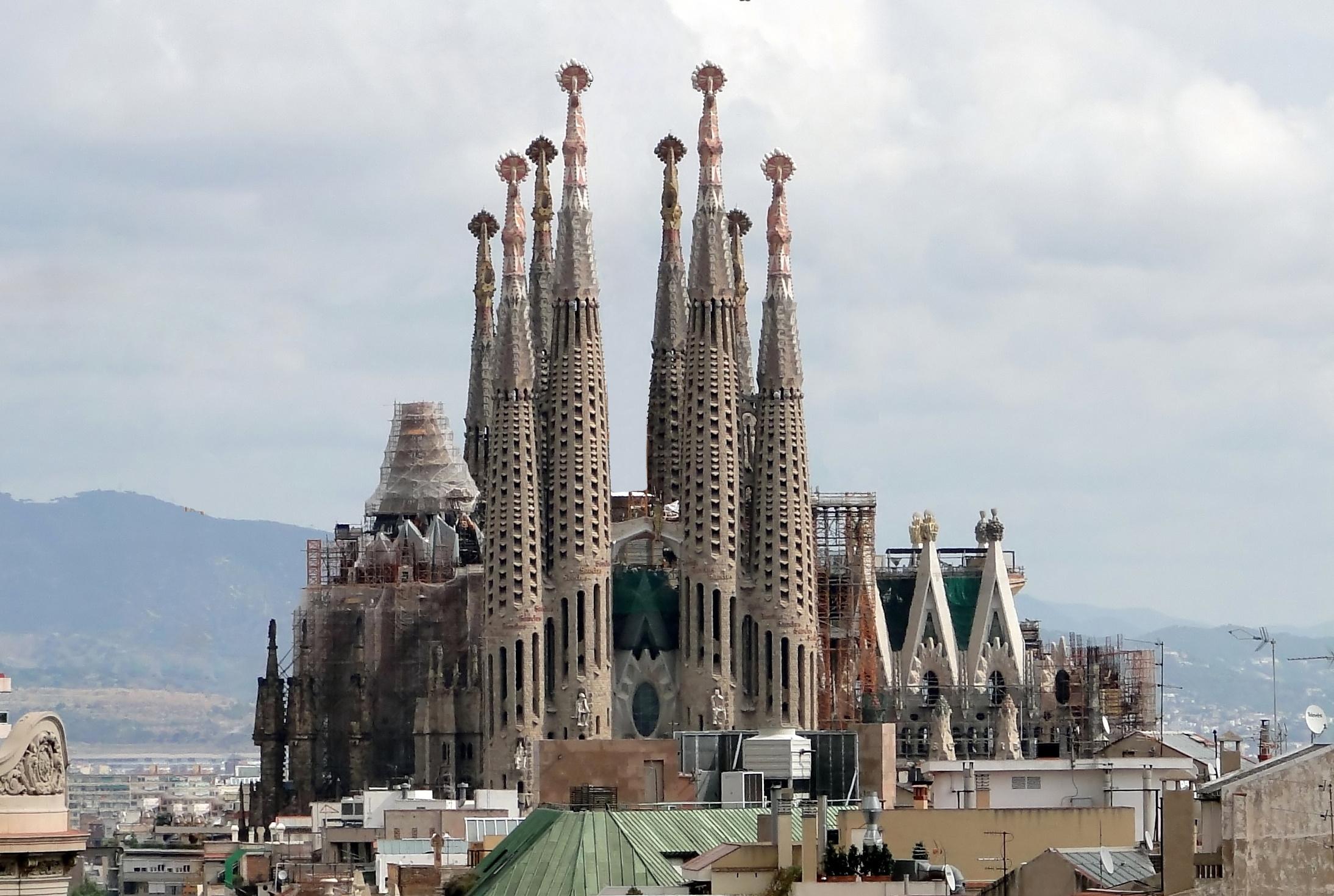 La Sagrada Familia II - Gaudi - Barcelona