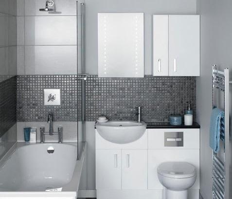 Banheiro com Pastilhas de Vidro - 020