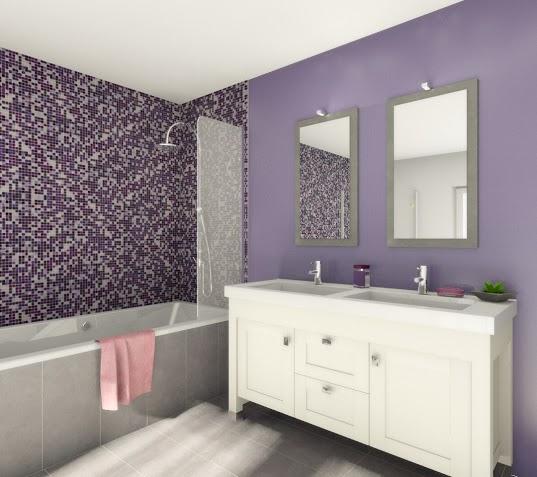 Banheiro com Pastilhas de Vidro - 037