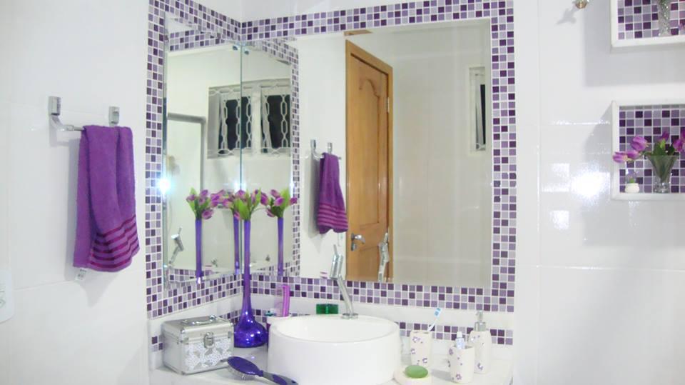 Banheiro com Pastilhas de Vidro - C4
