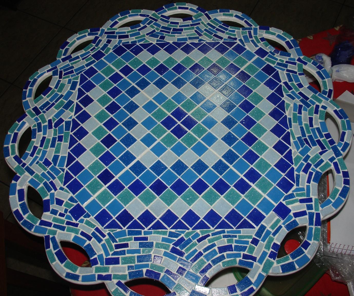 Mosaico com Pastilhas 03