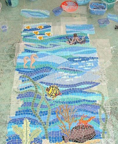 Mosaico para Piscina II