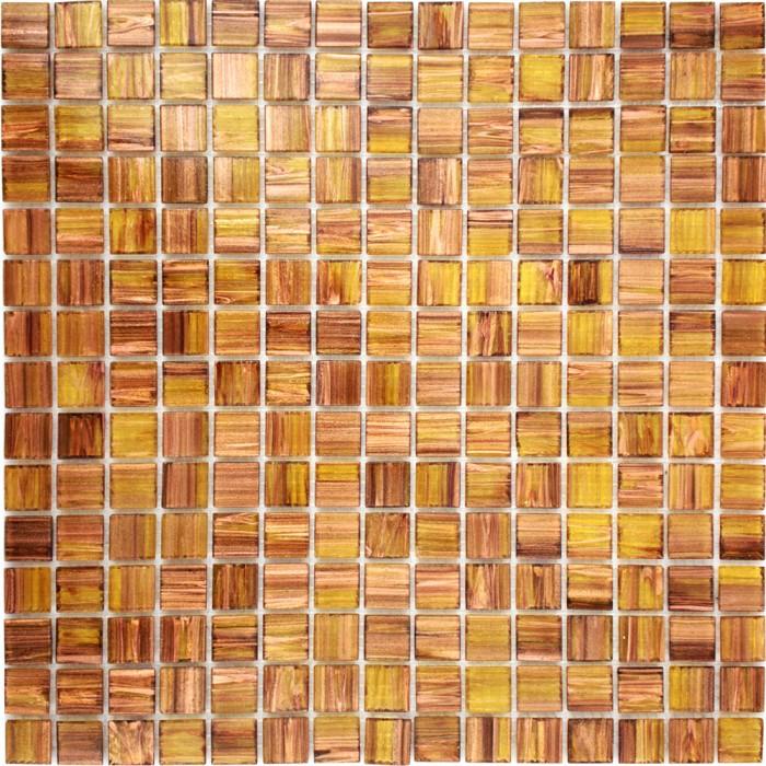 Pastilha de Vidro Pigmentado - Dourado Gloss - Frontal-700x700