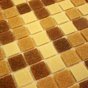 Pastilha de Vidro Pigmentado Caramelo_Diagonal