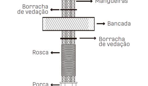 Como instalar filtro de passagem para torneira para filtro