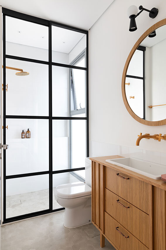 Ducha Dourada Chuveiro Dourado Banheiro Dourado (1)