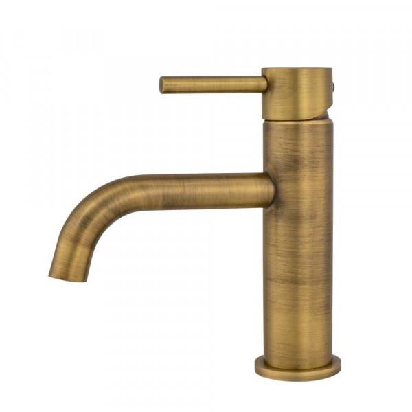 Torneira Monocomando Retrô Baixa para Banheiro (Ganges Dourada)
