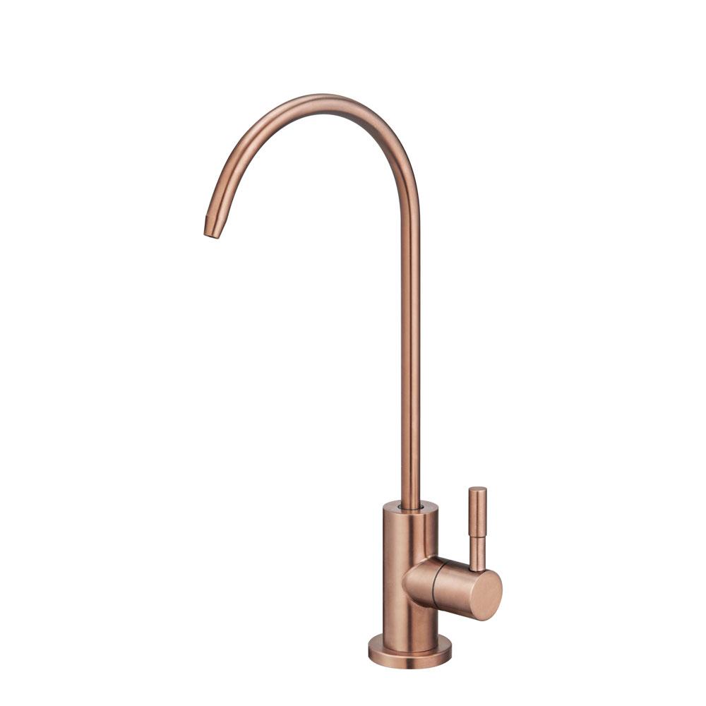 Torneira Giratória de Filtro Água Fria Inox (Simi Rosé Gold)