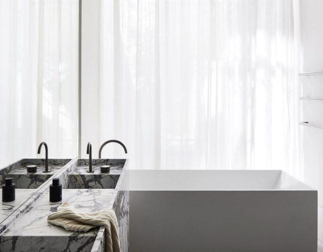 Bancada banheiro Torneira Monocomando Separado (Paul Conrad) 2